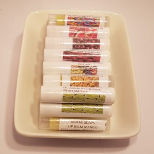 kawakawa infused lip balms