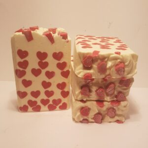 love spell goats milk soap